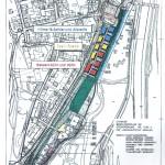 Thalkirchner Bahnhof Verteilung der Häuser auf Architekturbüros 2008